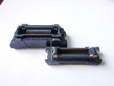 Floating board to board connector
